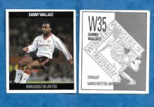Manchester United Danny Wallace England D35